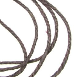 Jewellery cotton cord  3 mm