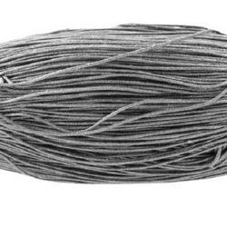 Шнур памук колосан 0.8 мм сив ~72 метра
