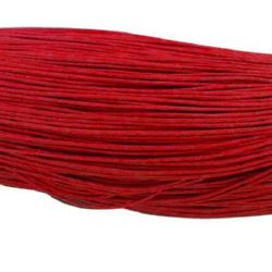 Jewellery cotton elastic 0.8 mm red ~ 72 meters