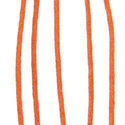 Jewellery cotton cord 2 mm Orange