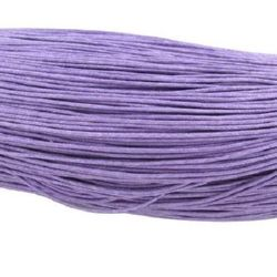 Cotton jewellery elastic 0.7 mm purple