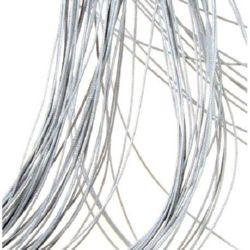 Шнур полиестер с основа корда 0.8 мм сив светло -90 метра