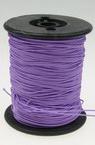 Шнур /конец/ полиестер с основа корда 0.8 мм лилав светло ~100 метра