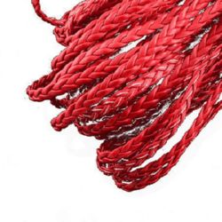 Artificial leather cord 5 x 2 mm