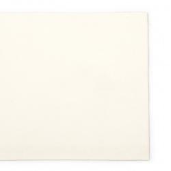 Изкуствена кожа самозалепваща 200x100x0.8 мм цвят бял