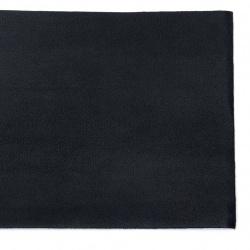 Изкуствена кожа самозалепваща 200x100x0.8 мм цвят черен