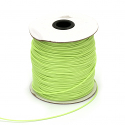 Cotton cord Korea 1.5 mm green light -10 meters