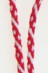 Шнур корда 2 мм ША13-10 Пан полиестер преобладаващо червено -50 метра