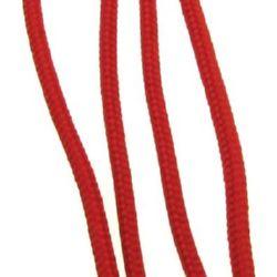 Шнур объл 3 мм К червен - 30 метра