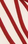 Объл шнур 3 мм рехав К червен - 30 метра