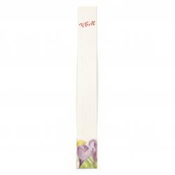 Suporturi din carton de 3/23 cm colorate cu inscripție și descriere - 200 bucăți