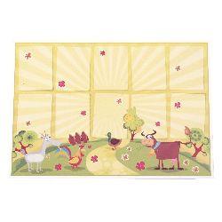 Carton căptușit de culoare lucioasă 15/20 cm pentru martisor pentru copii -10 bucăți