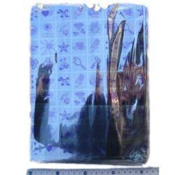 Целофанов плик метализирано цветно 20/23+4 см капак залепващ -100 броя