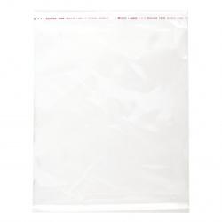 Plic de celofan 22/30 capac de 3 cm lipire 30mc. -200 piese