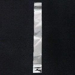 Целофаново пликче 3/25+3 см капак залепващ щендерно -200 броя