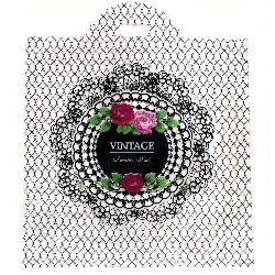 Торбичка от PE материал 53x45 см Винтидж