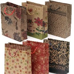 Craft Paper Gift Bags15x20 cm mixed colors