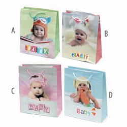 Baby Paper Gift Bag 26x31 cm