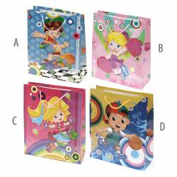 Children's Paper Gift Bag26x32 cm children's ASSORTED