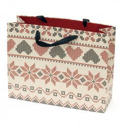 Paper Gift Bag 320x254x110 mm