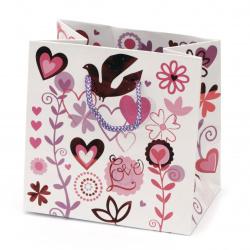 Gift bag 142x142x98 mm