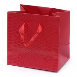 Торбичка подаръчна от картон 140x140x100 мм