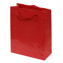 Торбичка подаръчна от картон 196x246x88 мм