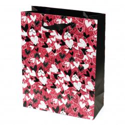 Gift Bag 266x350x114 mm hearts