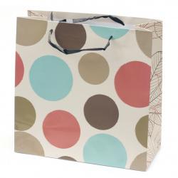 Торбичка подаръчна от картон 298x298x128 мм