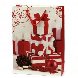 Торбичка подаръчна от картон 40x55x15 см Коледа АСОРТЕ