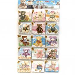 Картичка мини 80x95 мм различни видове