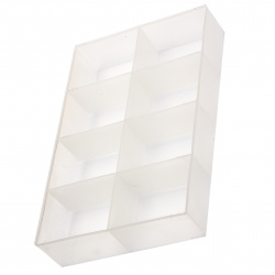 Plastic Box for Beads Storage 300x200x55 mm, with 8 compartments
