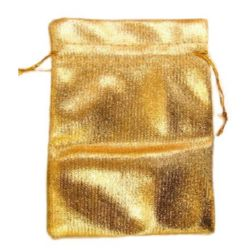 Fabric Jewellery Gift Back 90x120 mm gold