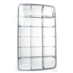 Organiser Storage Plastic Box 29.2x17x4Organiser Storage Plastic Box.4 cm -18 partitions