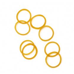 Elastic de silicon 2 cm -50 grame