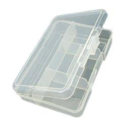Cutie de plastic 14.5x10.5x3.4 cm cu 5 compartimente