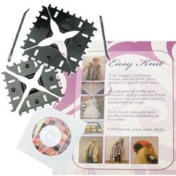 Lace Knitting Forms 100mm 80mm 2pcs Needles CD with instructions and models