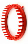 Форма за плетене кръг 190x35 мм