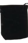 Торбичка за бижута 90x70 мм кадифе черна