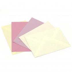 URSUS плик за картичка 114x162 мм C6 асорти цветове -1 брой