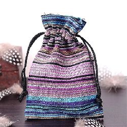 Торбичка 17.5x12.5 см цветна