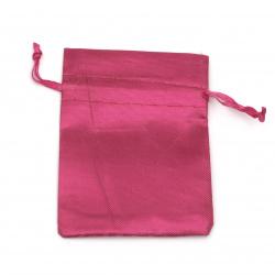 Торбичка за бижута 6.5x9 см циклама