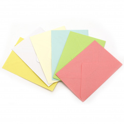 Envelope for card 75x110 mm variety - 10 pieces