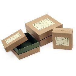 Cutie de carton din 3 bucăți -15x7,5 cm, 12,2x6,2 cm, 9,8x5 cm Cutie de scule