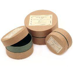 Set de cutii de carton din 3 bucăți -15 cm, 12 cm, 10 cm Cutie de scule