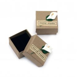 Кутийка за бижута 50x50 мм Hand made