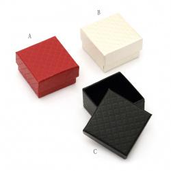 Κουτί δώρου για κόσμημα 50x50 mm ΜΙΞ