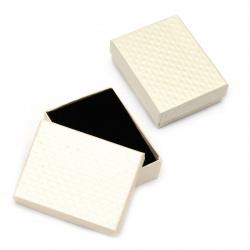 Cardboard Jewelry Box 70x90 mm white