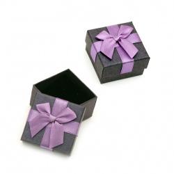Cutie bijuterii violet 60x60 mm