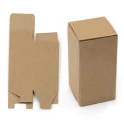 Κουτί δώρου, χαρτόνι κραφτ  12x6 εκ